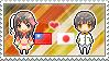 Stamp: TaiwanxJapan by Janbearpig