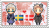 Stamp: SwedenxDenmark by Janbearpig