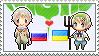 Stamp: RussiaxUkraine by Janbearpig