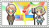 Stamp: USxUkraine by Janbearpig