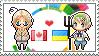 Stamp: CanadaxUkraine by Janbearpig