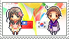 Stamp: TaiwanxKorea by Janbearpig