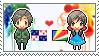 Stamp: Picardy x Seychelles by Janbearpig