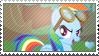 MLP: Rainbow Dash stamp