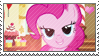 MLP: Pinkie Pie stamp by Janbearpig
