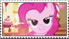 MLP: Pinkie Pie stamp by Janbearpig