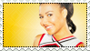 Glee: Santana stamp by Janbearpig