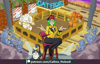 Commission El Gato Fight Club by callme-Nobodi