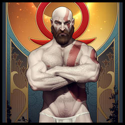 Kratos Commission finished by TheFuhrerDoodles