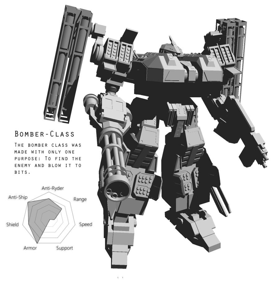Bomber-class by LoveinSpace