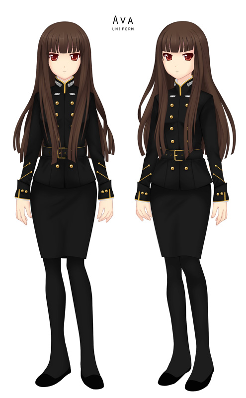 Ava Uniform by LoveinSpace