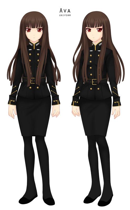Ava Uniform by LoveinSpace