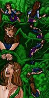 Zelda in the Lost Woods