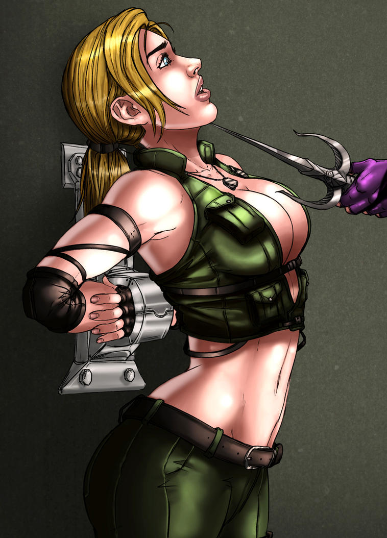 Sonya Blade - Patreon Reward by shadowyzman