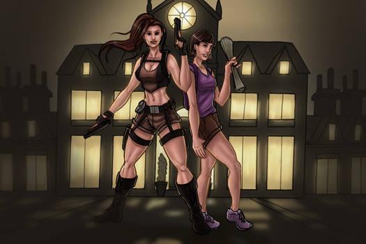 Lara and Dora - Explorers United