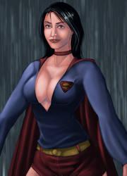 Superwoman as Supergirl