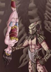 Predator and Wonder Woman