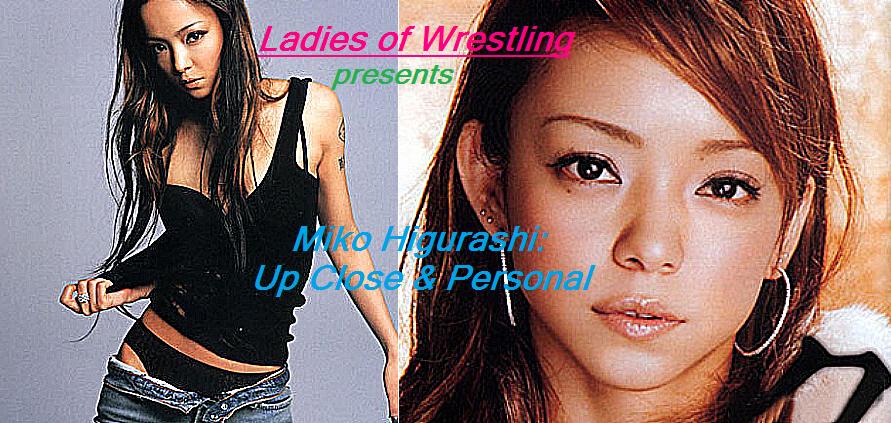 Ladies of Wrestling 2-Miko Higurashi Poster by LaceyLaLa