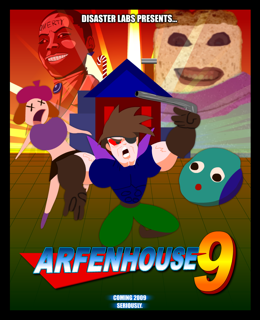Arfenhouse 9 Cover Art by misteroo