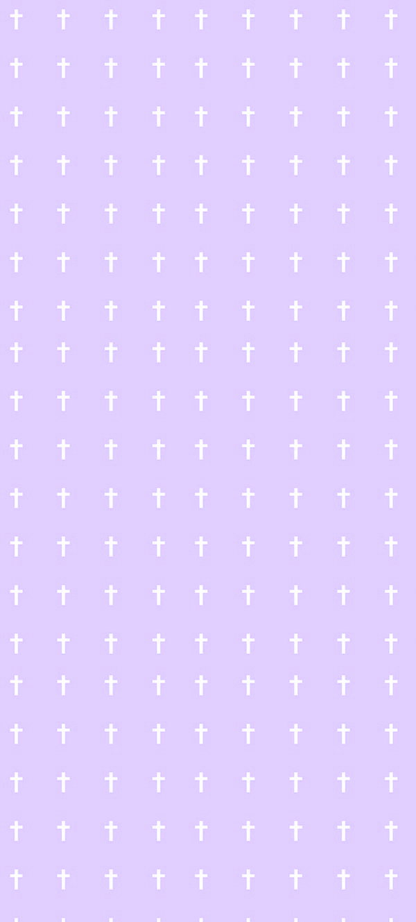 Pastel Goth Cross Custom Box Purple by asheds