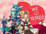 12 Tails : Handsome Wolf and Moe Sheep