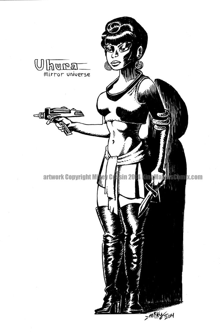 Uhura Mirror Universe1 by mikey-c