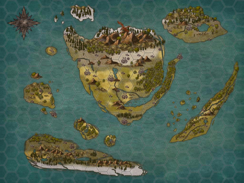 Fantasy Map 2 by Ryuchanwings