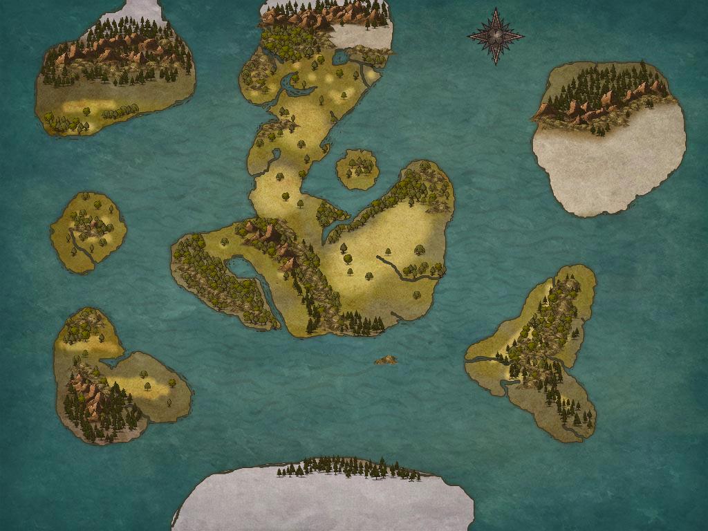 Fantasy Map 3 by Ryuchanwings