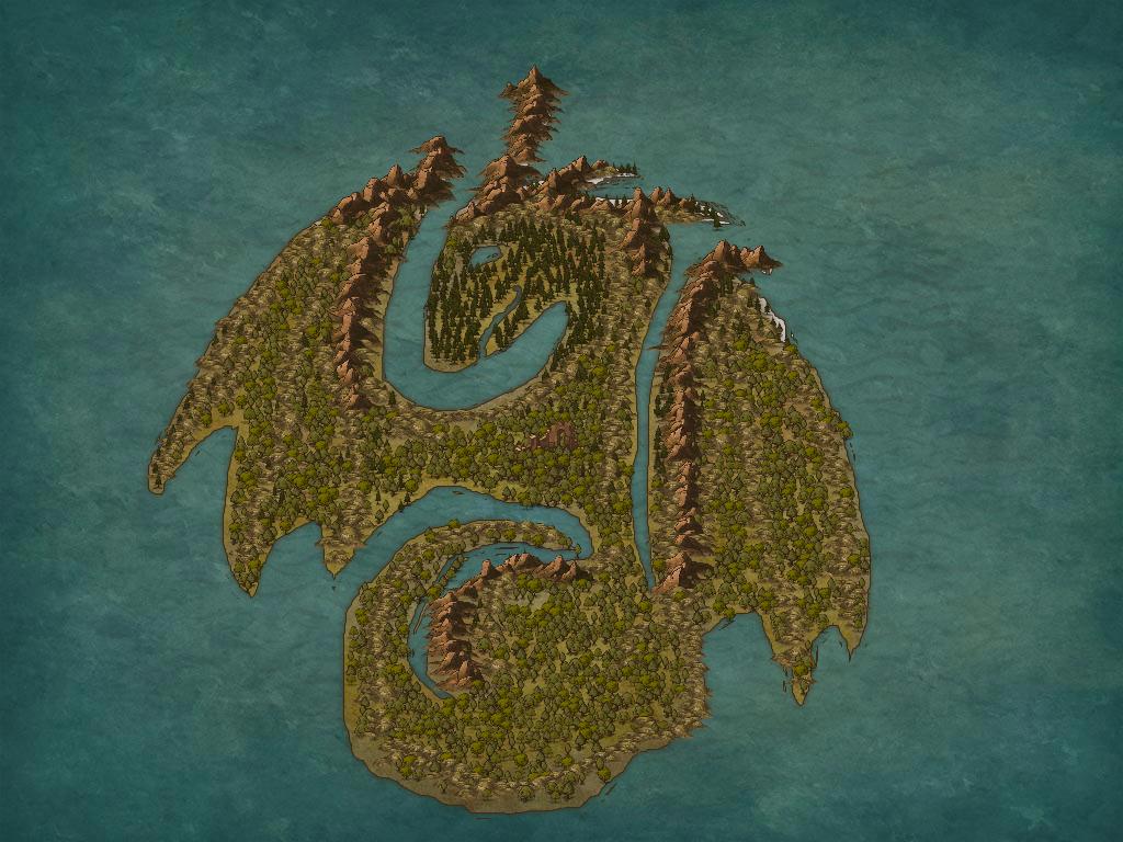 Fantasy Map (5) by Ryuchanwings