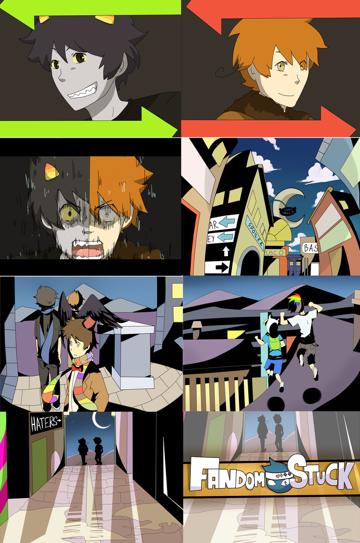 FANDOMSTUCK-souleater opening screenshot [preview] by LaWeyD