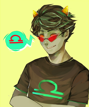 dcbc5f122eb7 Fire Eyes (male!Terezi x Reader) part 1 by divergent2demigod2 on ...