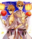 striders in kimonos - homestuck