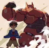 big hero 6 by LaWeyD