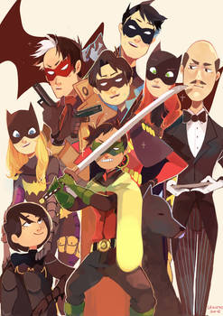 the batfamily