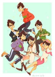 Osomatsu-san by LaWeyD