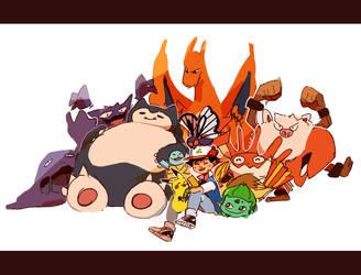 Pokemon by LaWeyD