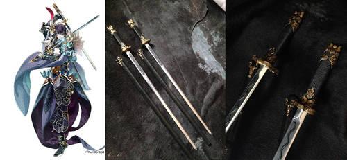 Thunderbolt Fantasy: Sha Wu Sheng swords
