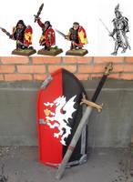LARP Sword and Shield set