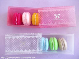 Macaron Boxes by ForeverBubbles