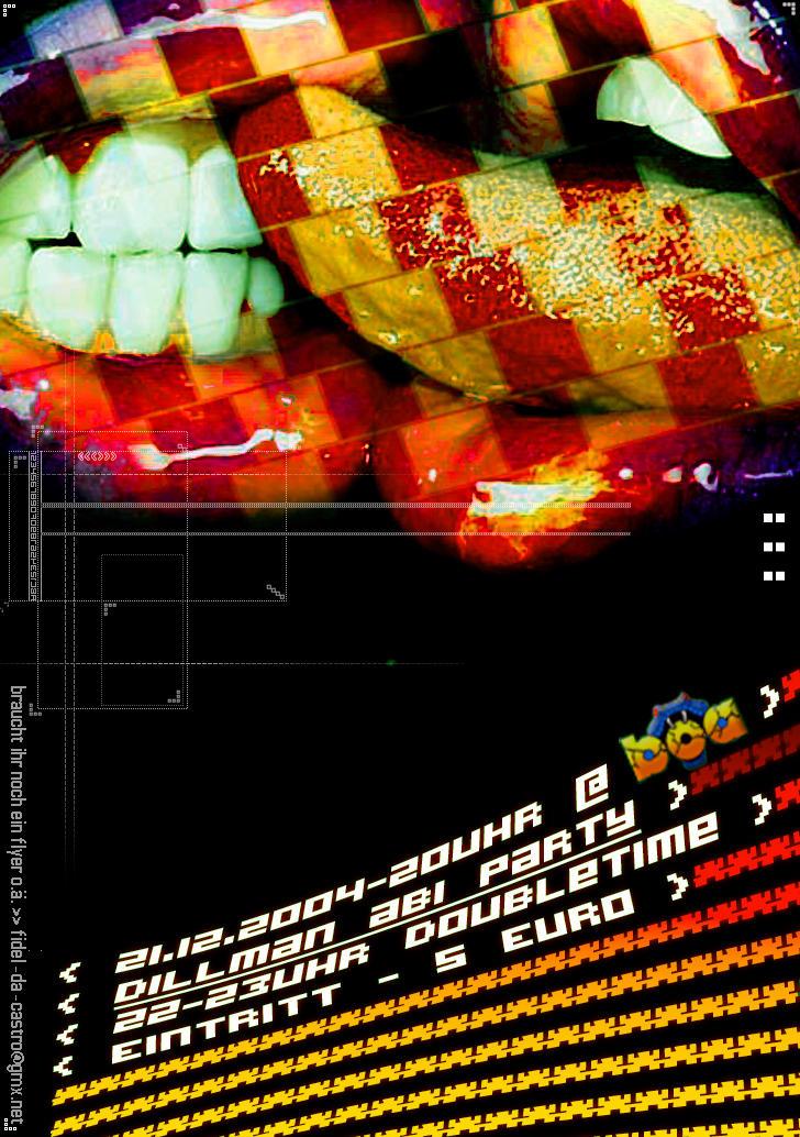 flyer by futzi