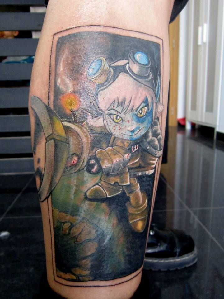 tristana tattoo league of legends by ryuseipt on deviantart