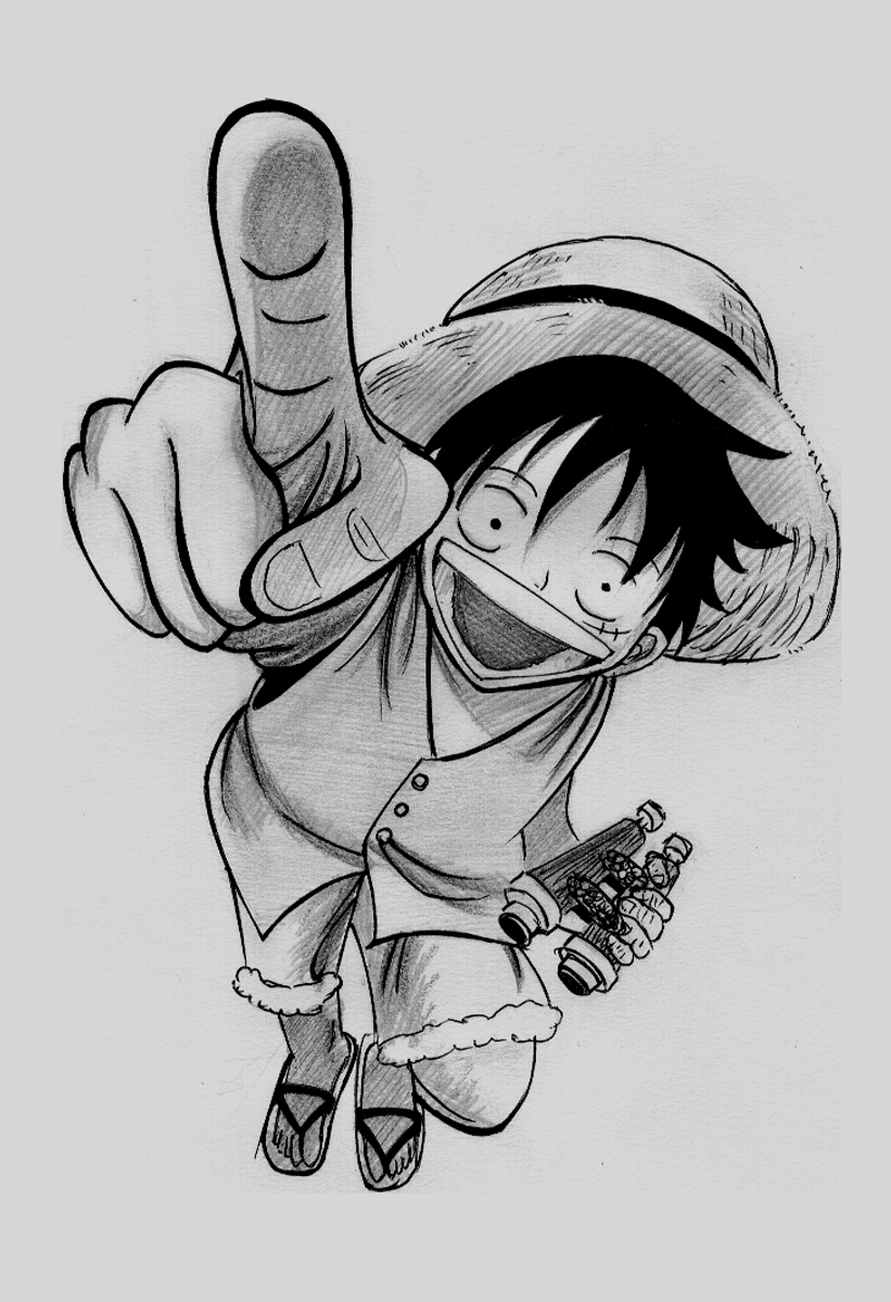 Monkey d luffy union dibujantes 3djuegos for One piece dibujos