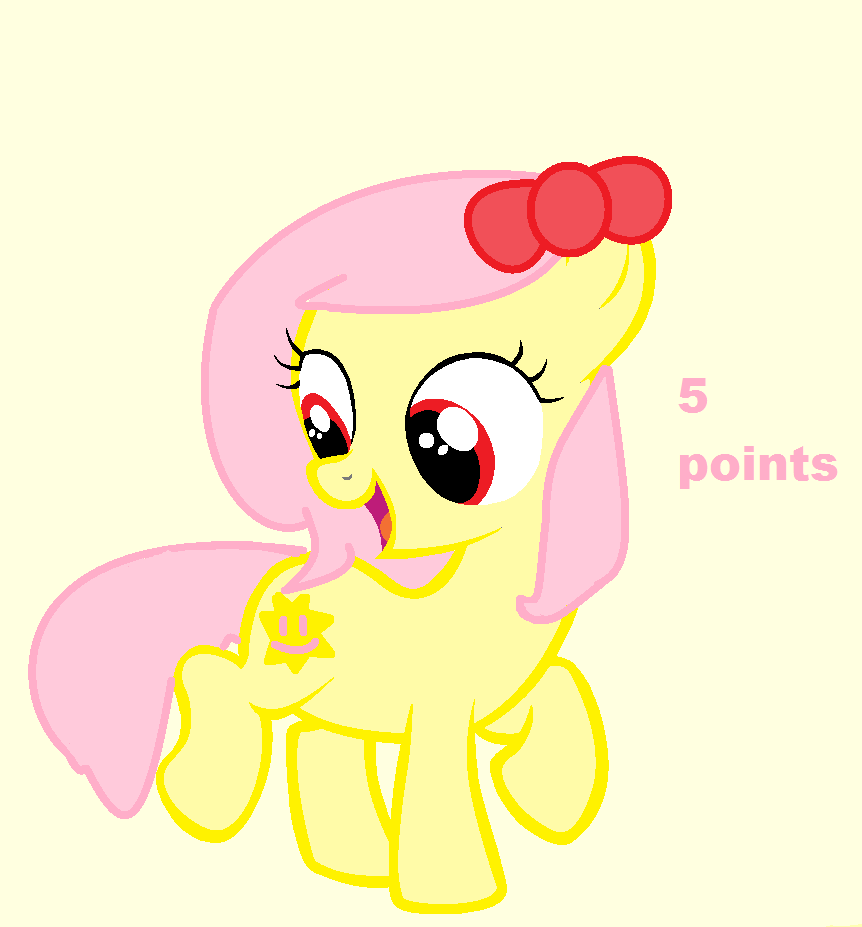 Pony Point Adoptable! {OPEN} by SNlCKERS