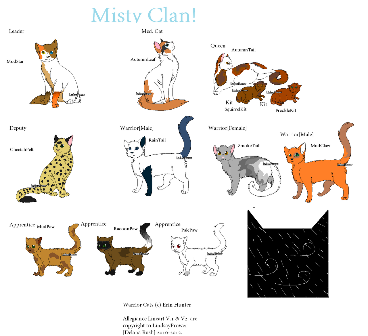 Warrior Cat Names List For Toms