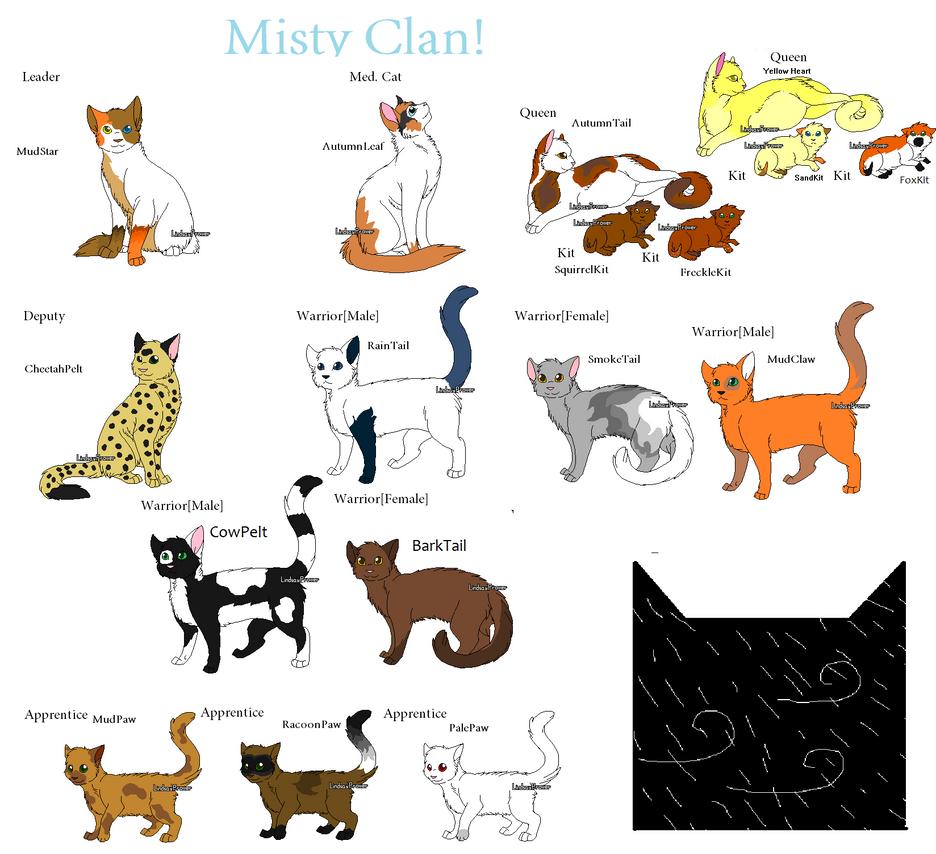 List Of Good Warrior Cat Clan Names