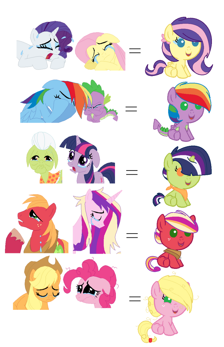 Unfortunate Pony Ships Baby Adopts Open By Snlckers On