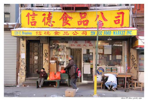 China, New york style.