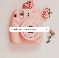 Moodboard customs open .