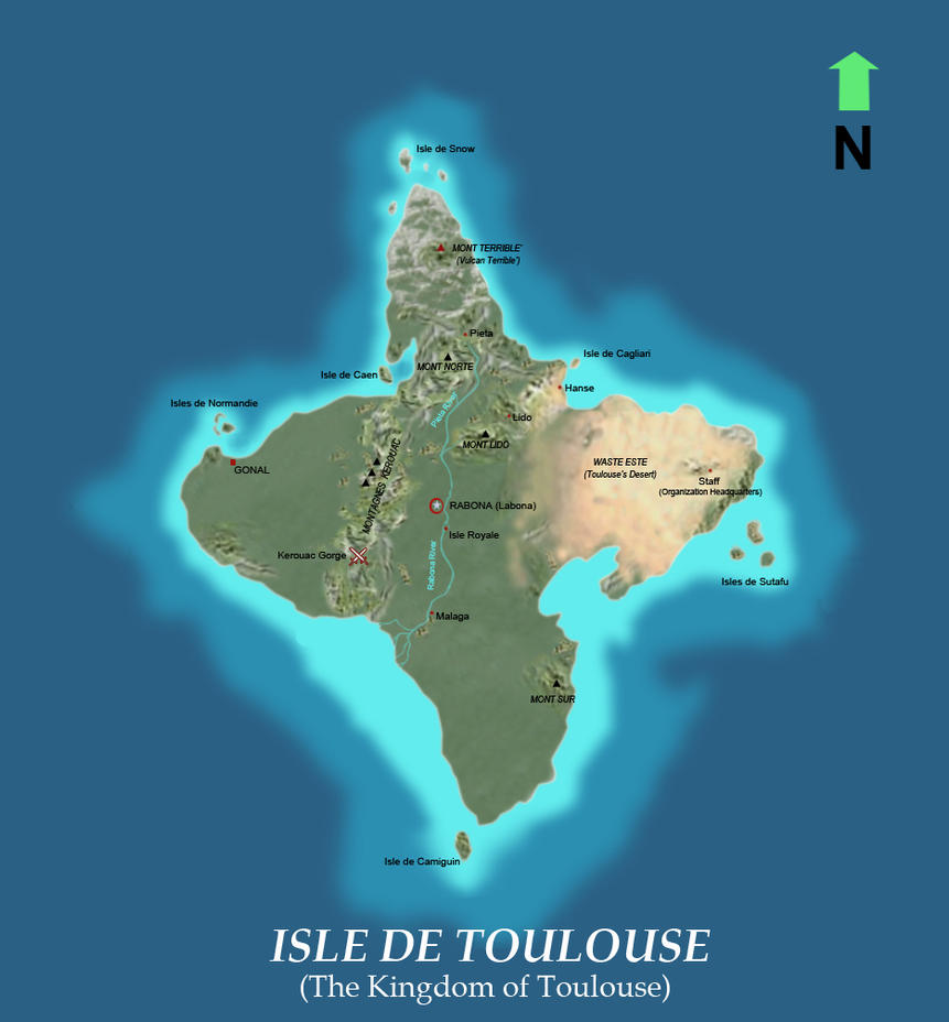 Map of Toulouse (To be Edit) by bmesias063