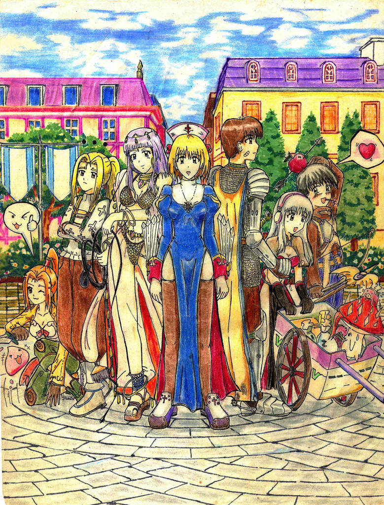 Old Artwork (Highschool days) Ragnarok Online 01 by bmesias063